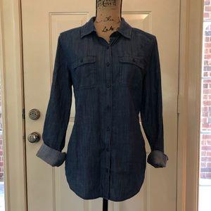 🆕 Like New St John's Bay Button Front Shirt!